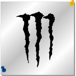 Monster Autoaufkleber
