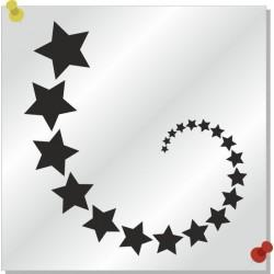 Sterne Autoaufkleber