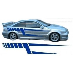 Streifen Auto Aufkleber für die Fahrzeugseite