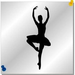 Prima Ballerina Autoaufkleber