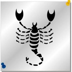 Sternzeichen Skorpion Autoaufkleber