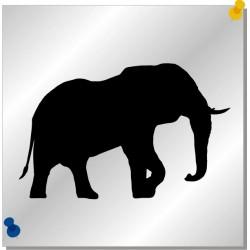 Elefant Autoaufkleber