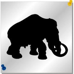 Mammut Autoaufkleber