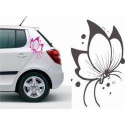 Schmetterling Autoaufkleber für die Fahrzeugseite